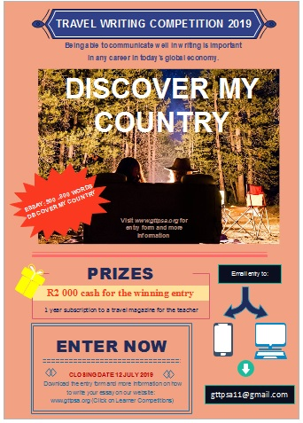2019 Travel Writing Competition - The Global Travel